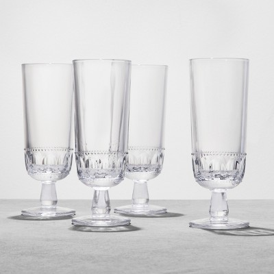4pk Glass Goblet Tall - Hearth & Hand™ with Magnolia