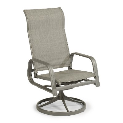 daytona outdoor swivel chair dark gray home styles