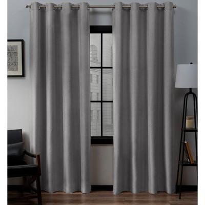 Loha Linen Window Curtain Panel Pair - Exclusive Home™