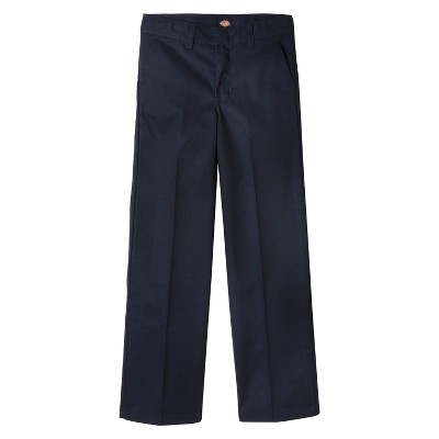 Dickies Little Boys' Flat Front Uniform Chino Pants