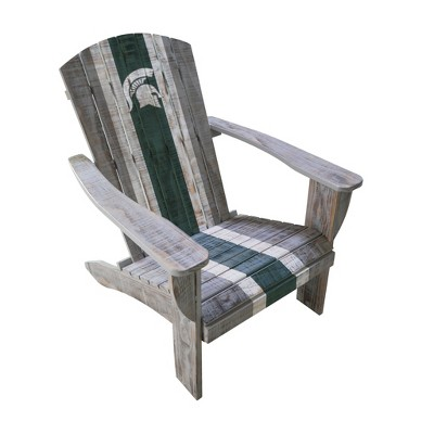 michigan adirondack chair kd smart owner s manual ncaa state spartans wooden target about this item