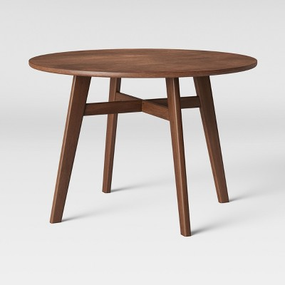 kitchen table round cabinets com 44 maston dining hazelnut project 62 target
