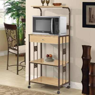 microwave cart cabinets target