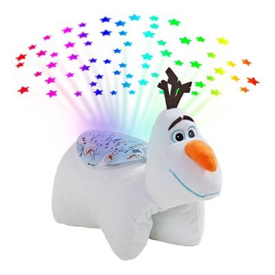 disney frozen 2 olaf sleeptime lite plush led nightlight pillow pets