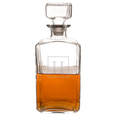 Cathy's Concepts Personalized Glass Decanter A-Z