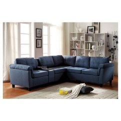 Acme Sectional Sofa Chocolate Best Brands Reviews Cleavon Reversible Target
