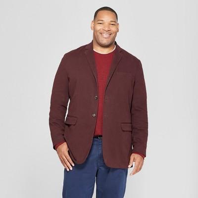 Men's Big & Tall Washed Twill Blazer - Goodfellow & Co™