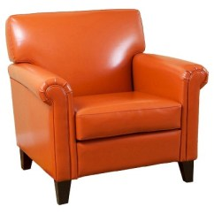 Target Club Chair Rent Tent And Chairs Rolled Arm Orange Christopher Knight Home