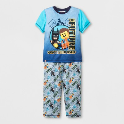 Boys' LEGO Movie 2 2pc Pajama Set - Gray