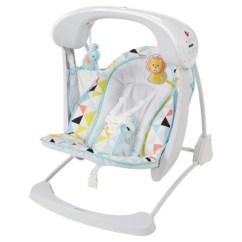 Baby Swing Vibrating Chair Combo Covers Wedding Edinburgh Fisher Price Deluxe Take Along And Seat Windmill Target