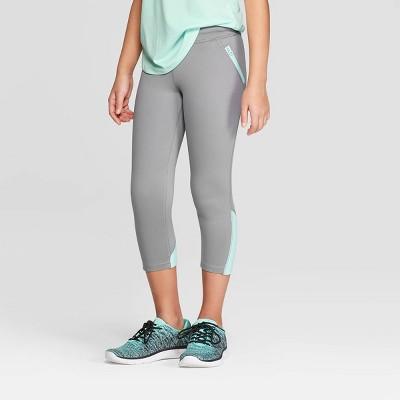 Girls' Laser Cut Premium Capri Leggings - C9 Champion®