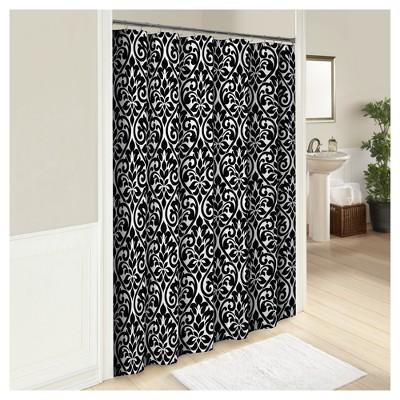 hadley mosaic shower curtain marble hill