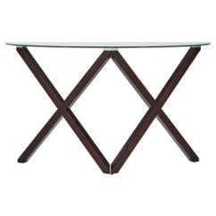 Target Sofa Table Espresso Double Bed Cheap Alcala Contemporary Glass Top