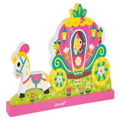 Janod Magnetic Vert Puzzle-Princess