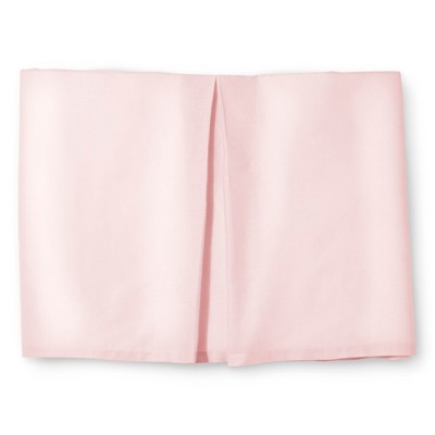 Rizzy Home Pink Knots Texture Bed Skirt