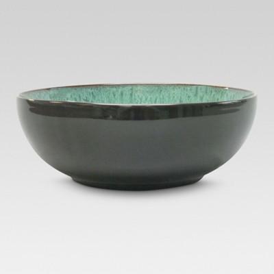 Belmont Serving Bowl Stoneware Green 104oz - Threshold™