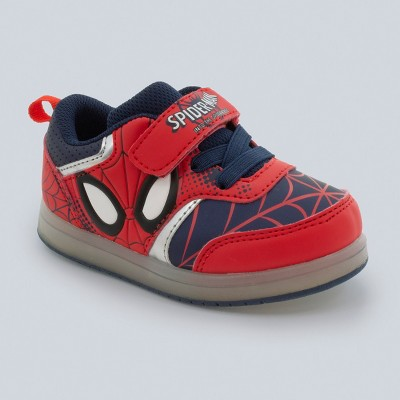 Toddler Boys' Marvel Spider-Man Sneakers - Red