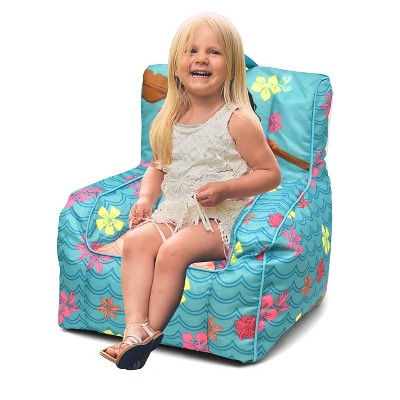 bean bag chair for toddler weird guy in wheelchair moana with handle disney target