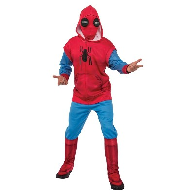 Men's Spider-Man Homecoming Hoodie and Sweatpants Set Adult Costume