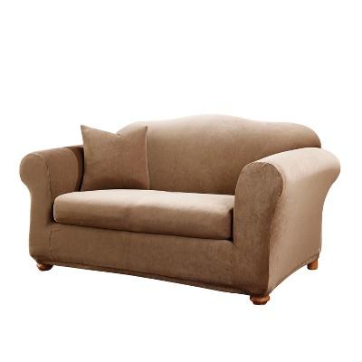 Stretch Stripe 2pc Sofa Slipcover - Sure Fit