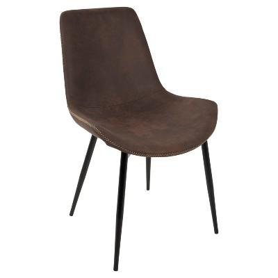 industrial dining chair ergonomic living room duke set of 2 lumisource target