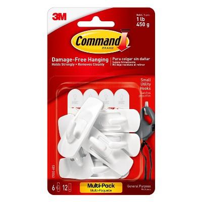 3M Command Hook Small 6Pk