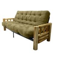 Foam Sofa Sleeper 2 Piece Sectional Cheap Lodge 8 Cotton Futon Epic Furnishings Target
