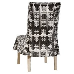 Dining Chair Covers Target Elegant Comfort Roman Key Slipcover