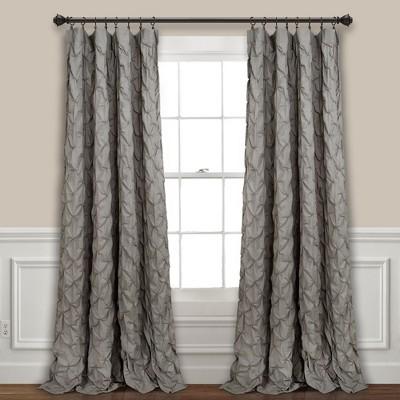 "84"" x 52"" Ravello Pintuck Window Curtain Panel - Lush Decor"