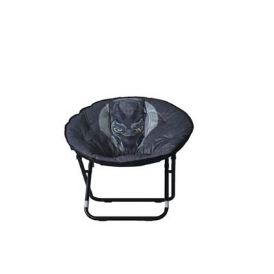adult saucer chair flash furniture black panther sized marvel target