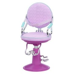 Doll Salon Chair Trex Adirondack Rocking Chairs Our Generation Sitting Pretty Lilac Quilted 1 More