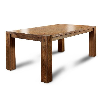 arseniosturdy wooden dining table dark oak homes inside out