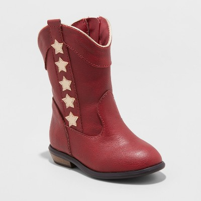Toddler Girls' Anika Cowboy Boot with Metallic - Cat & Jack™