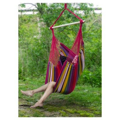 swing chair seat country tables and chairs sorbus brazilian hammock for any indoor or outdoor spaces red multi target