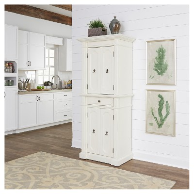 fiesta kitchen diamond cabinets storage pantry white home styles target