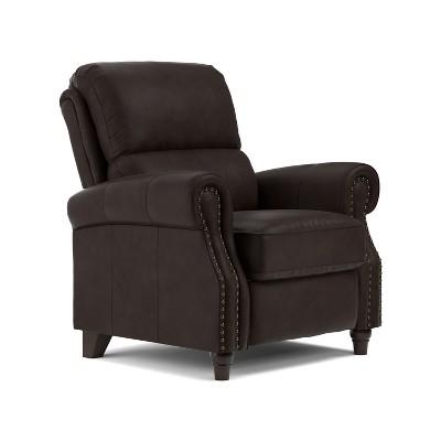 push back chair bed uk gumtree recliner brown prolounger target
