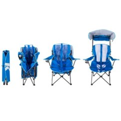 Folding Canopy Chair Steelcase Think Review Kelsyus Original Royal Blue Target