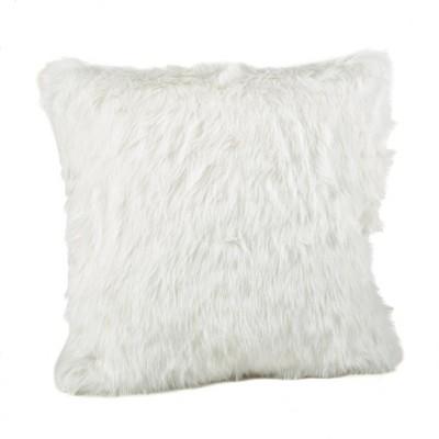 faux fur pillows covers target