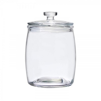 Amici Home Christopher Kimball's Milk Street Clear 76 oz Glass Storage Jar, Single Container