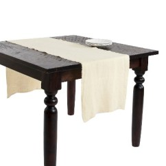 Sofa Table Runners What Color Curtains Match A Red Fringed Design Stone Washed Runner Target