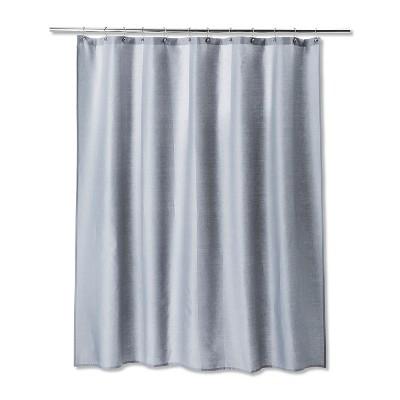Solid Shower Curtain Gray Mist - Room Essentials™