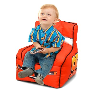 toddler bean bag chairs recliner thailand cars chair with handle disney target