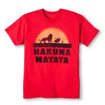 Men's Hakuna Matata® T-Shirt Red