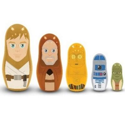 Star Wars Nesting Dolls Jedi and Droids