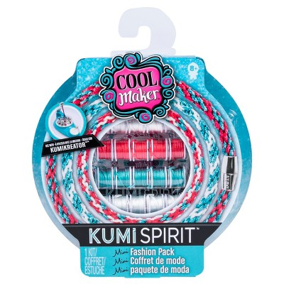 Cool Maker KumiSpirit Mini Fashion Pack (Pink/Teal/White)