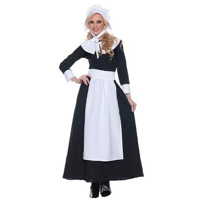 Women's Pilgrim Woman Costume