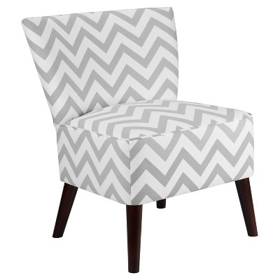 grey and white accent chair comfortable store chevron gray dorel living target