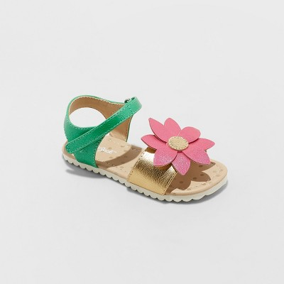 Toddler Girls' Tomasa Slide Sandals - Cat & Jack™ Pink