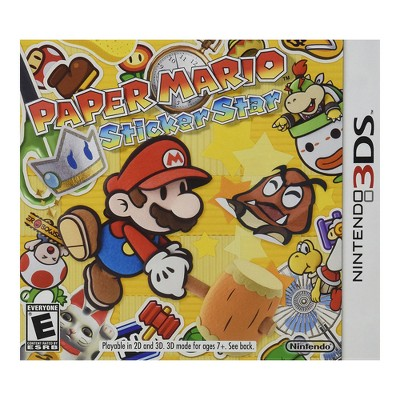 Paper Mario: Sticker Star - Nintendo 3DS (Digital)
