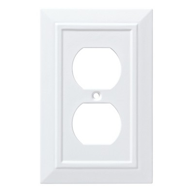 gray outlet switch plate covers